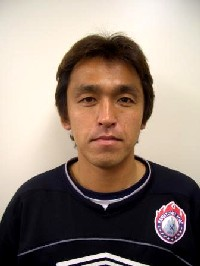 13 Apr 06 - Yuji Hashimoto, coach to Kansai League champions Banditonce Kobe