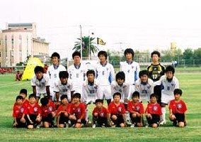 01 Dec 05 - Hoping to get back to the Kyushu League, Osumi NIFS United