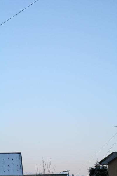 20110125 東の空_R