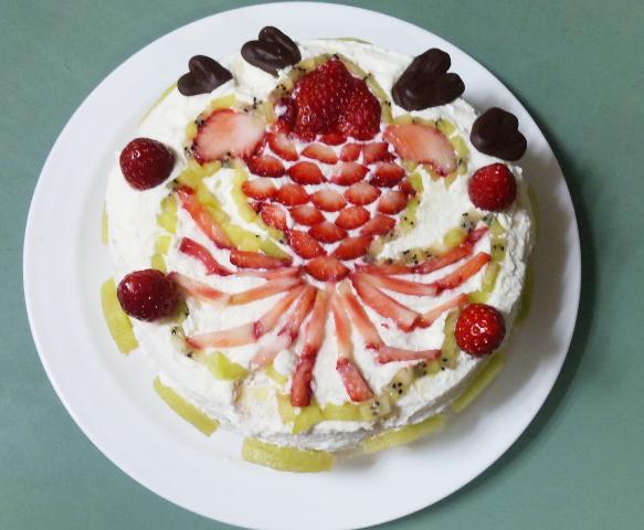 はじめケーキ