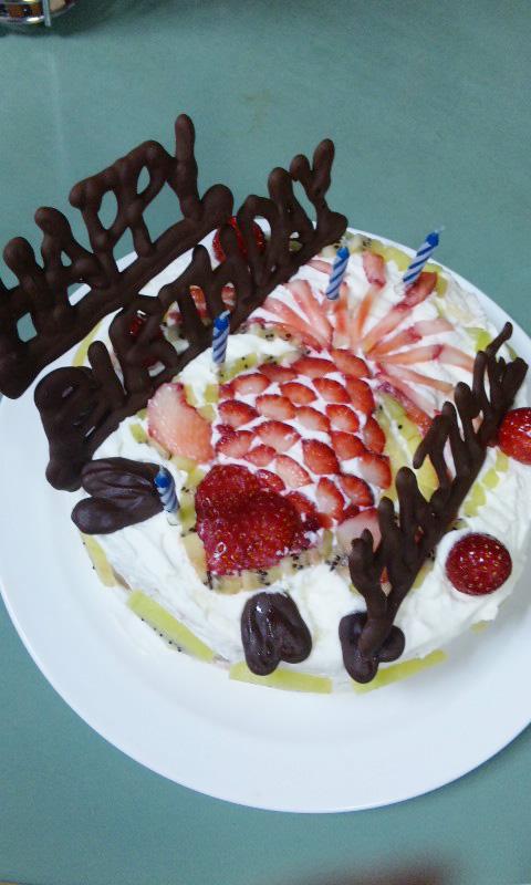 はじめケーキ3
