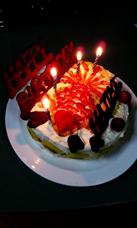 はじめケーキ2