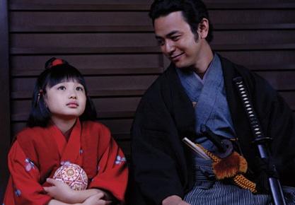 死神(左)と彦四郎