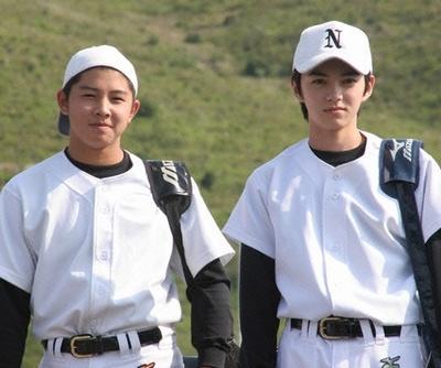 永倉豪(左)と原田巧