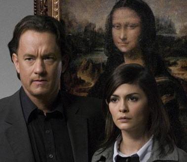 ラングドン(左)とソフィー