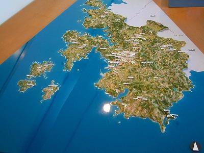壱岐の地図
