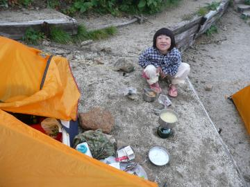 穂乃花晩餐、燕岳