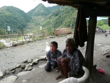 バンガアンの老人