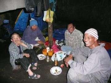 第1キャンプ