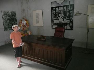 マルコスの机