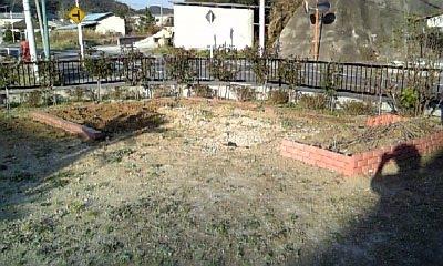 北の庭一日目