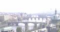 レトナー公園からの橋の眺め