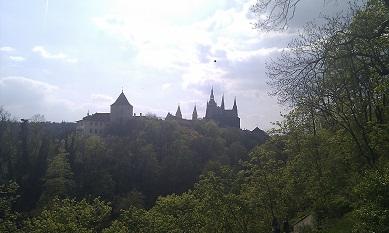 ホトゥコヴィ・サディからのプラハ城