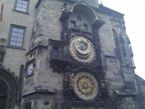 市庁舎の時計
