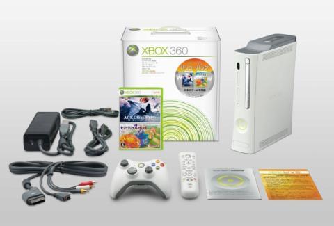Xbox 360 バリューパック(60GB:HDMI端子搭載、「エースコンバット6 解放への戦火」&「ビューティフル塊魂」同梱)【期間限定生産】