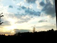 夕日の写真(加工前)