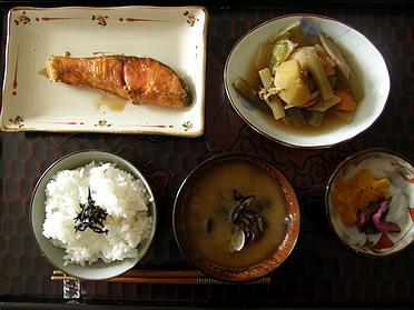 素食(朝御飯)