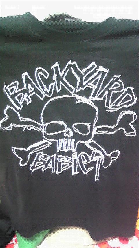 BACKYARDBABIESツアーTシャツ