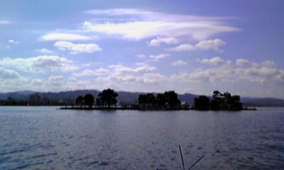ボートからの嫁ヶ島