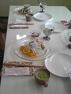 今日のお料理教室♪
