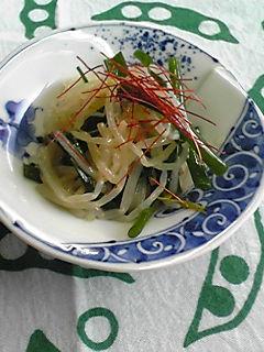 もやしと細葱の和風ナムル