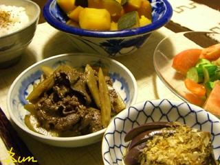 Aug11_牛肉とごぼうのきんぴら