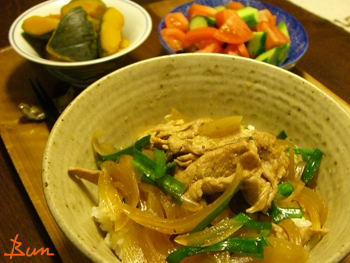 Aug21_ニラ豚丼