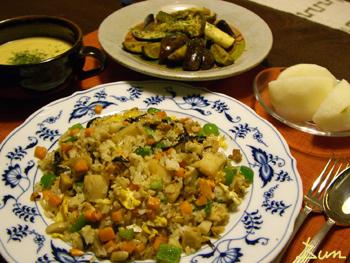 Aug22_昆布風味のホタテ炒飯