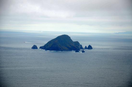 鵜渡根島 無人島 209m
