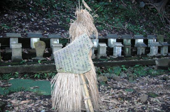 岡田 八幡神社のイボッチャ
