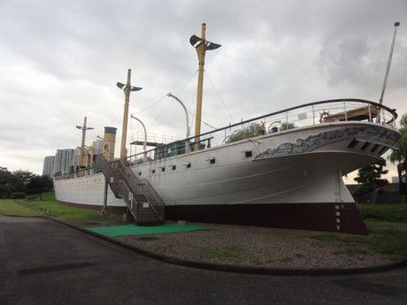きれいな船だ