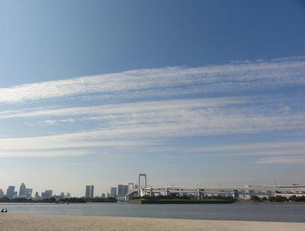レインボーの雲