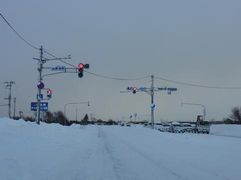 雪道(2011.01.11)