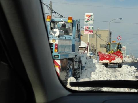 排雪風景(2011.01.29)