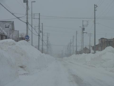 今日も排雪(2011.01.30)