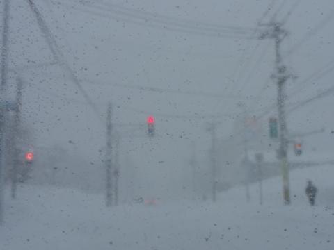 今日の爆雪01(2011.02.01)