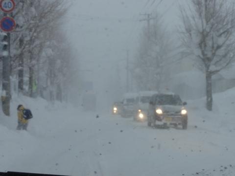 今日の爆雪02(2011.02.01)