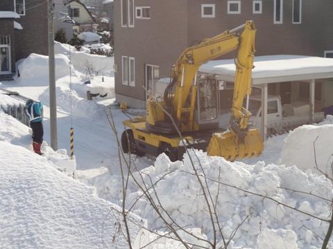排雪風景01(2011.02.04)