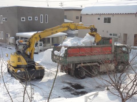排雪風景02(2011.02.04)