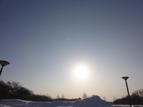 職場地方の朝陽(2011.02.09)