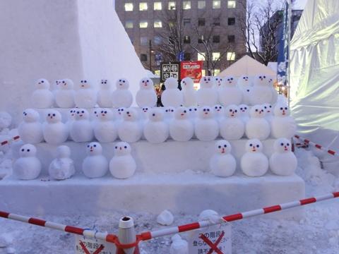 雪だるま軍(2011.02.11)