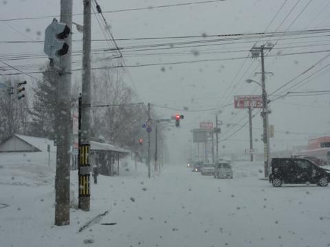 3月の吹雪(2011.03.17)