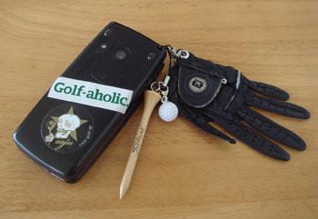 ゴルフな携帯!