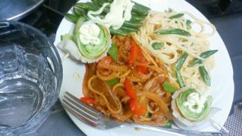 2色スパゲティ