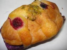 紫芋のブリオッシュ