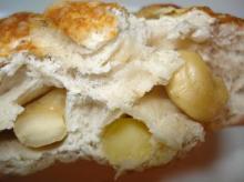 カシューナッツ&チーズ断面