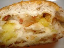 ベーコン&チーズ断面