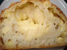 チーズフランス断面