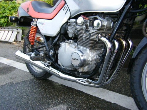 GS650G MAC EXHAUST