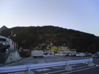 前にも撮った筑波山